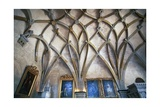 Ceiling in Gothic Style in Vladislav Hall Giclee Print