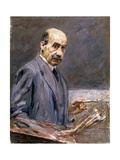 Self Portrait, 1911-12 Giclee Print by Max Liebermann