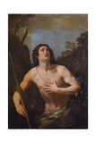 Saint John the Baptist in the Wilderness Giclee Print by Guido Reni