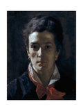 Portrait of His Sister, Bice Giclee Print by Demetrio Cosola