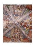 Doctors of Church, Fresco Giclée-tryk af Gaudenzio Ferrari