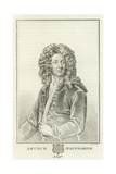 Arthur Maynwaring, Esquire Giclee Print by Sir Godfrey Kneller