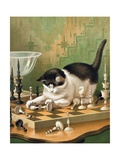 The Game of Chess Giclee Print