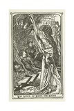 The Death of Balin and Balan Giclee Print by Henry Justice Ford