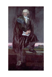 Portrait of Beethoven Giclee Print by Barry Fantoni