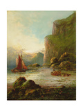 Near Dawlish, South Devon Giclee Print by Frank Hider