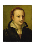 Portrait of Minerva Anguissola Giclee Print by Lucia Anguissola