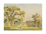 A View of Chirk Castle, 1916 Giclee Print by Philip Wilson Steer
