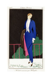 Parisian Clothing: New Frock Coat by Kriegk, 1913 Giclee Print by Charles Martin
