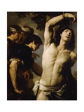 Martyrdom of St Sebastian Giclee Print by Andrea Vaccaro