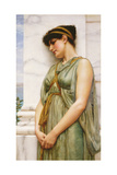 Pompeian Girl Giclee Print by John William Godward