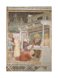 Dinner at the Pharisee's House Giclee Print by Taddeo Gaddi