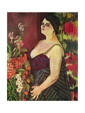 Portrait of Madame Coquiot, 1918 Giclee Print by Marie Clementine Valadon