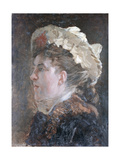 Head of a Woman with a Veil Giclee Print by Giuseppe De Nittis