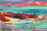 On the Shore, Iona, 2012 Giclee Print by Peter Graham