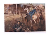Last Stand of the Kelly's Giclee Print by George Washington Lambert