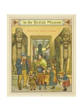 In the British Museum Giclee Print by Thomas Crane