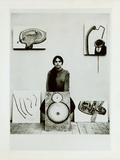 Photograph of Eva Hesse, C.1965 Impressão fotográfica