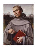 St. Francisco, Circa 1500 Giclee Print by Francesco Francia