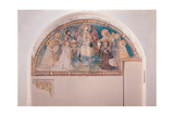 The Majesty: Madonna and Child with Saints, 1335 Giclee Print by Ambrogio Lorenzetti