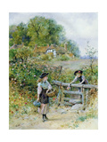 The Stile Giclee Print by William Stephen Coleman
