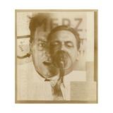 Kurt Schwitters, 1924-5 Giclee Print by Eliezer Markowich Lissitzky