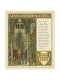 Westminster Abbey Giclee Print by Thomas Crane
