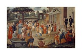 Month of May, Garden Party Giclee Print by Cristoforo Rustici