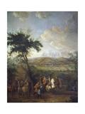 Siege of Namur Giclee Print by Jean-Baptiste Martin
