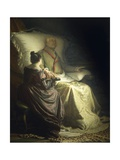 Dying Goethe, 1880 Giclee Print by Angelo Morbelli