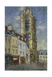 The Bell Tower of St, 1925 Giclee Print by Gustave Loiseau