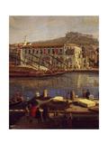 View of Naples Giclée-Druck von Gaspar van Wittel