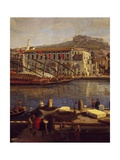 View of Naples Giclee Print by Gaspar van Wittel