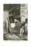 Charles V and Pizarro Giclee Print