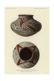 Vase from Pueblo Viejo, Gila Valley, Arizona Giclee Print