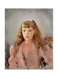 Portrait of Grand Duchess Olga Alexandrovna Giclee Print by Valentin Aleksandrovich Serov