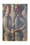 Two Friends, 1936 Giclee Print by Oskar Schlemmer