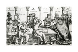 Royal and Ecclesiastical Gamers, C.1609 Giclee Print by Thomas Cockson