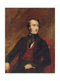 Portrait of Sir Edward Colebrooke, 1843 Giclee Print by Frederick Richard Say