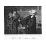 Scene from Measure for Measure Giclee Print by August Spiess