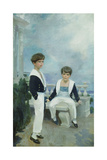 The Velie Boys Giclee Print by Cecilia Beaux