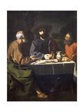 Supper at Emmaus, 1639 Giclee Print by Francisco de Zurbaran