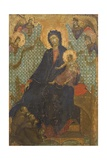 Madonna of Franciscans Giclee Print by Duccio Di buoninsegna