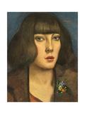 Zillah, of the Hambone, 1922 Giclee Print by Christopher Richard Wynne Nevinson