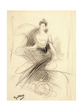 Portrait of Madame X Giclee Print by Giovanni Boldini