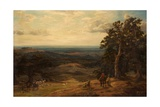 Cub Hunting in the Midlands, 1886 Giclee Print by Charles Edward Johnson