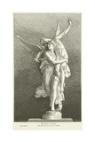 Gloria Victis Giclee Print by Marius Jean Antonin Mercie