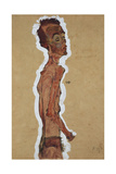 Self-Portrait, 1910 Giclee Print by Egon Schiele