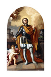 Saint Louis of France Giclée-tryk af Francesco Solimena