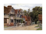 Chiddingstone, Kent Giclee Print by Alfred Robert Quinton